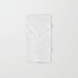 Lines Art Hand & Bath Towel