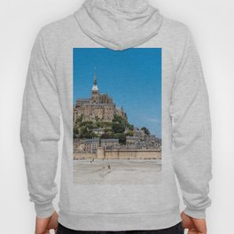 View of Mont Saint Michel, France Hoody
