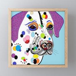 Dalmatian Framed Mini Art Print