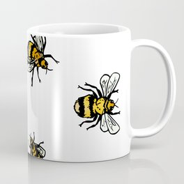 Just Some Beez A - White Coffee Mug