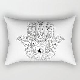 Hamsa Hand Rectangular Pillow