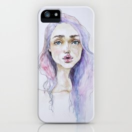 Lavender baby iPhone Case
