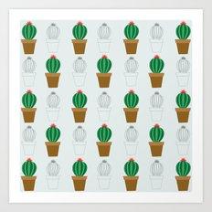 C13D Cactus Art Print