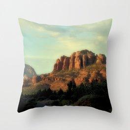 CATHEDRAL ROCK - SEDONA ARIZONA Throw Pillow