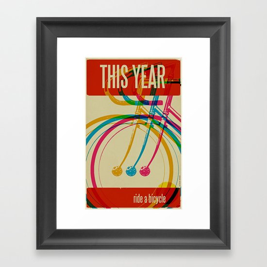 This Year Framed Art Print