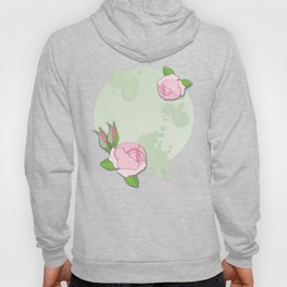 Pink roses for spring Hoody