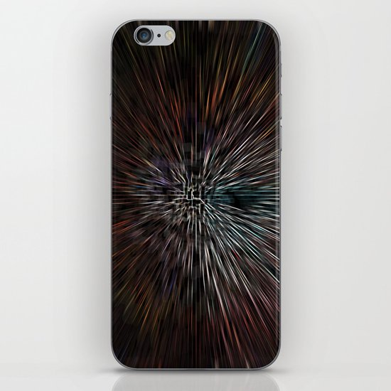 3D abstract Art iPhone & iPod Skin