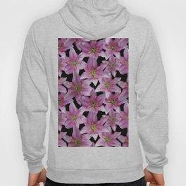 Pink Lilies Hoody