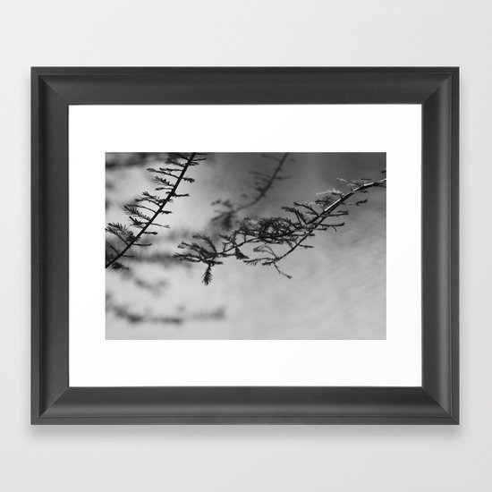 Nature in Abstract Framed Art Print
