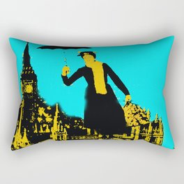 Mary in the City  Rectangular Pillow