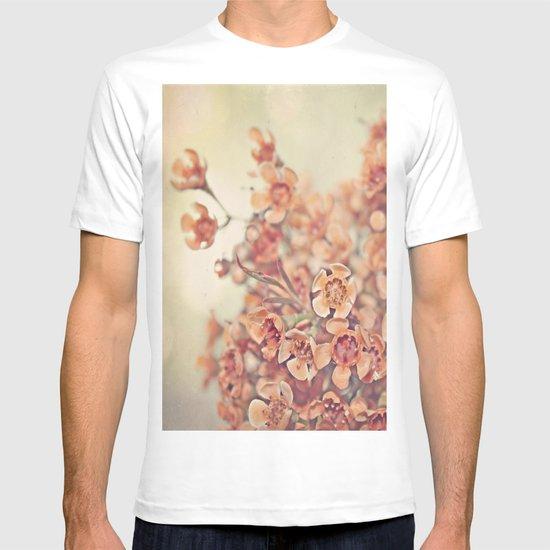 Orange Waxflowers T-shirt
