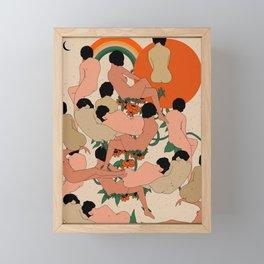 Got Your Back Framed Mini Art Print