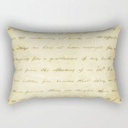 Simply Text Rectangular Pillow