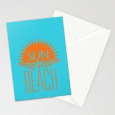 Sun of a Beach Stationery Cards