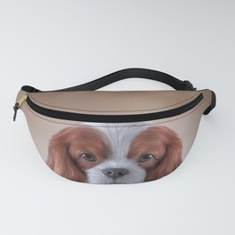 Drawing Cavalier King Charles Spaniel Fanny Pack
