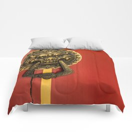 Chinese Lion Comforters