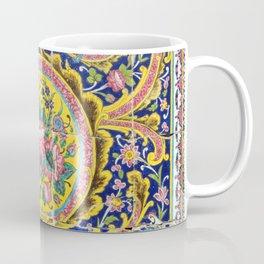 Floral Persian Tile Coffee Mug