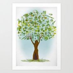 Life tree Art Print