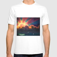 The Light Mens Fitted Tee White MEDIUM