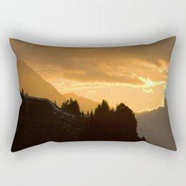Swiss Alps Rectangular Pillow