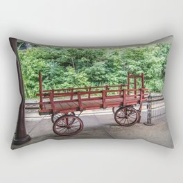 The Staunton Wagon Rectangular Pillow