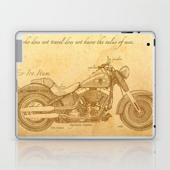 Travel Plan Laptop & iPad Skin
