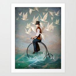 Ocean Ride Art Print