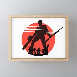 Ash Framed Mini Art Print