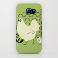Hen and chick Slim Case Galaxy S6