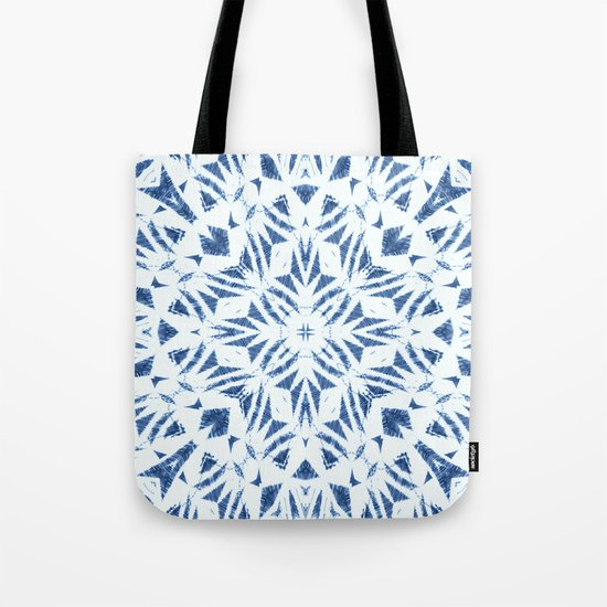 Arrowhead Denim White Tote Bag