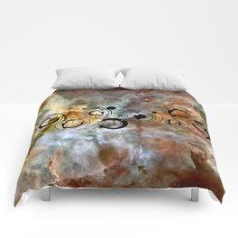 Doctor Who Geronimo Gallifrey with the Carina Nebula Comforters