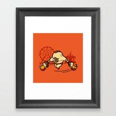 Part Time Job - Fun Fair Framed Art Print