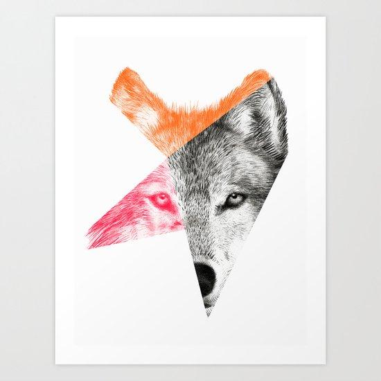 Wild by Eric Fan & Garima Dhawan Art Print