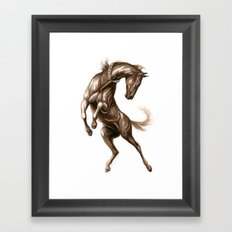 Ink Horse Framed Art Print