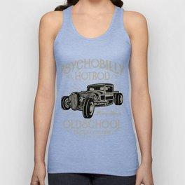 Psychobilly Hot Rod Vintage Garage Unisex Tank Top