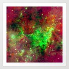 Vibrant Space Art Print