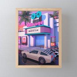 80s Cinema Framed Mini Art Print