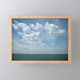 Overlooking Lake Erie Framed Mini Art Print