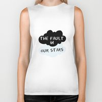 fault Biker Tanks featuring The Fault In Our Stars by swiftstore