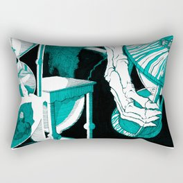 Fate (aquamarine v.01) Rectangular Pillow