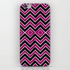 Pink Black Tribal Chevron iPhone & iPod Skin