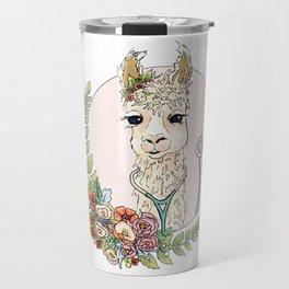 Healthcare Llama Travel Mug