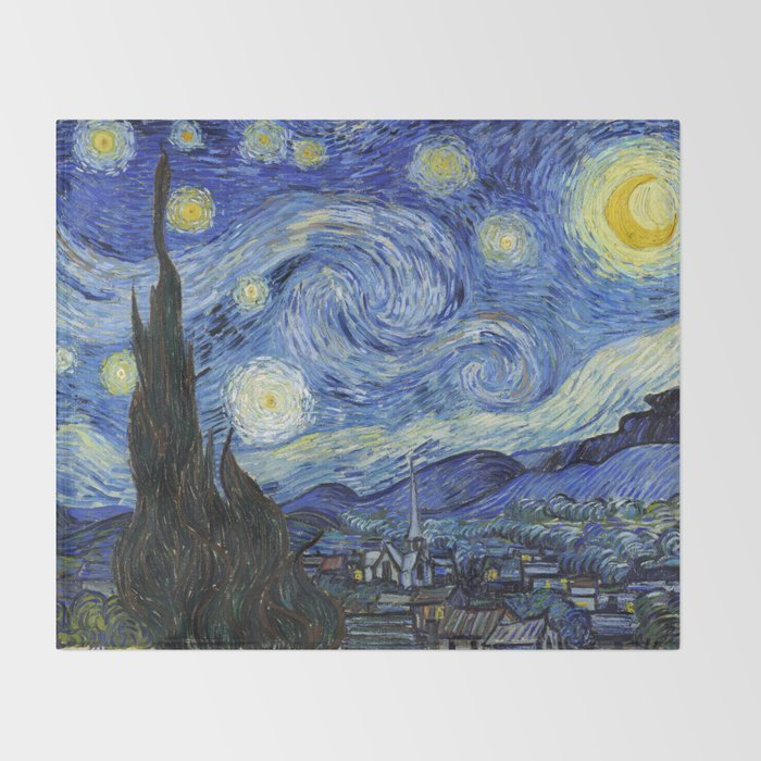 Starry Night by Vincent Van Gogh Decke
