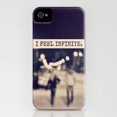 I Feel Infinite iPhone (4, 4s) Slim Case