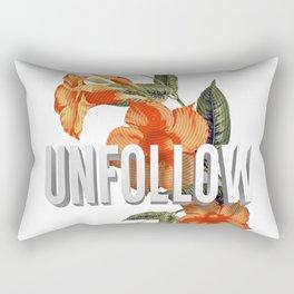 UNFOLLOW Rectangular Pillow