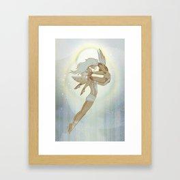 Danseurs Cosmiques 4 Framed Art Print