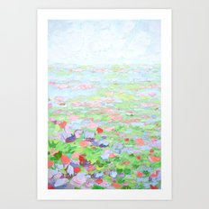 September Fields Art Print