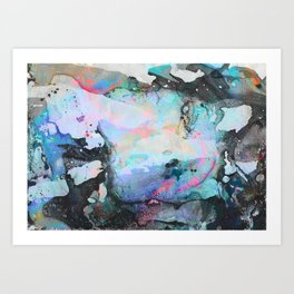 Why The Long Face Art Print