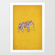 When in India Art Print