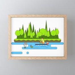 Fishing Trip Framed Mini Art Print